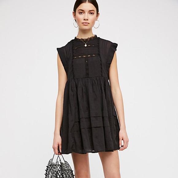 82efc261bb65 Free People Dresses | Nobody Like You Embroidered Mini M | Poshmark